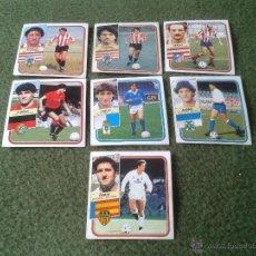 Cromos de Fútbol: GRAN LOTE DE 7 CROMOS DE FUTBOL FICHAJES LIGA 89 90 CON DIFICILES COMO ANDRES, CAMILO Y TOMAS. Lote 42957582