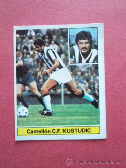 KUSTUDIC FICHAJE MUY DIFICIL ALBUM ESTE LIGA 1981/82 (Coleccionismo Deportivo - Álbumes y Cromos de Deportes - Cromos de Fútbol)