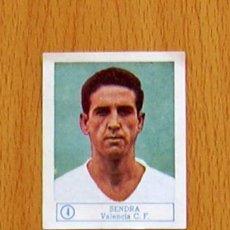 Cromos de Fútbol: VALENCIA - 4 SENDRA - EDICIONES FERCA 1959-1960, 59-60. Lote 43010045