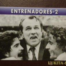 Cromos de Fútbol: CARTA ENTRENADORES 2 - REAL MADRID - MAGIC BOX INTERNATIONAL.. Lote 43058438