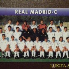 Cromos de Fútbol: CARTA REAL MADRID C - MAGIC BOX INTERNATIONAL.. Lote 43058540
