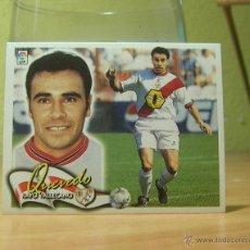 Cromos de Fútbol: EDICIONES ESTE 2000-2001 00 01 QUEVEDO (RAYO VALLECANO) SIN PEGAR. Lote 43104983