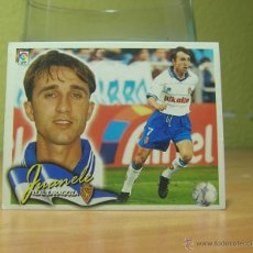 Cromos de Fútbol: EDICIONES ESTE 2000-2001 00 01 JUANELE (ZARAGOZA) SIN PEGAR. Lote 43105122
