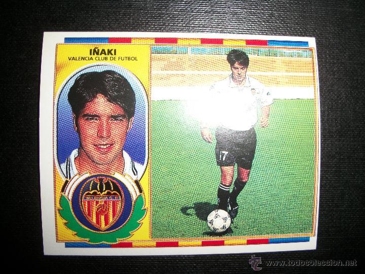 IÑAKI DEL VALENCIA ALBUM ESTE LIGA 1996 - 1997 ( 96 - 97 ) (Coleccionismo Deportivo - Álbumes y Cromos de Deportes - Cromos de Fútbol)