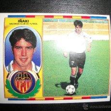 Cromos de Fútbol: IÑAKI DEL VALENCIA ALBUM ESTE LIGA 1996 - 1997 ( 96 - 97 ). Lote 226494070