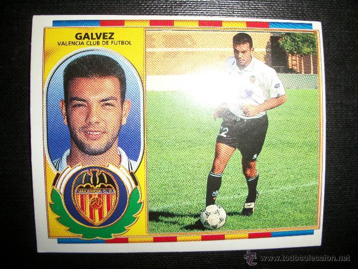 GALVEZ DEL VALENCIA ALBUM ESTE LIGA 1996 - 1997 ( 96 - 97 ) (Coleccionismo Deportivo - Álbumes y Cromos de Deportes - Cromos de Fútbol)