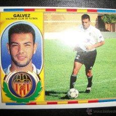 Cromos de Fútbol: GALVEZ DEL VALENCIA ALBUM ESTE LIGA 1996 - 1997 ( 96 - 97 ). Lote 226493905