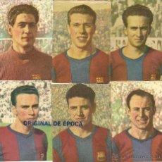 Cromos de Fútbol: (F-483)CROMOS DE CHOCOLATES PI (10,5 X 7,5 CM.) C.F.BARCELONA A 4 EUROS LA UNIDAD.. Lote 119201940