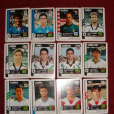 Cromos de Fútbol: CROMOS DE FUTBOL 95-96 MARCA SUPER GOL-REAL MADRID-SPORTING-ATLETIC-BARÇA-BETIS-CELTA-52 CROMOS. Lote 43233642