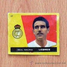 Cromos de Fútbol: REAL MADRID - Nº 17 LESMES - EDITORIAL BRUGUERA 1959-1960, 59-60. Lote 43257643