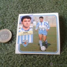Cromos de Fútbol: CROMO DE FUTBOL LIGA 89 90 1989 1990 EDICIONES ESTE NUNCA PEGADO MALAGA RIVAS. Lote 43267703