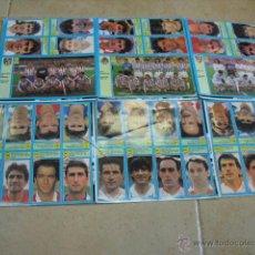 Cromos de Fútbol: AS 1999, 49 CROMOS EN 6 PLANCHAS,. Lote 43396423