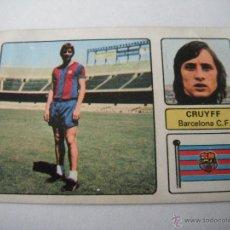 Cromos de Fútbol: CROMO FHER 73/74. CRUYFF (BARCELONA C.F. ). U.FICHAJE Nº 15. DESPEGADO. Lote 43413902