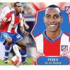 Cromos de Fútbol: ESTE 2008 2009. PEREA - ATLETICO MADRID. NUEVO SIN PEGAR . Lote 77827627
