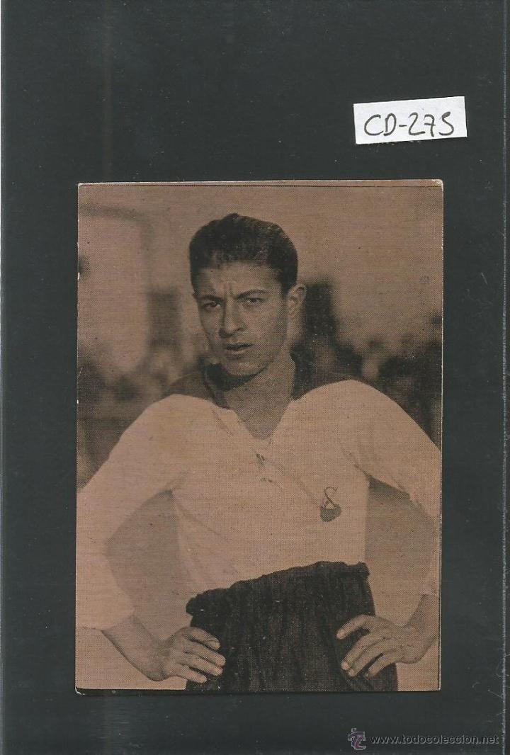 DOMINGO BROTO - TERRASSA F.C. - FOOTBALL GALERIA DE JUGADORES CHOCOLATE PIERA-(CD-275) (Coleccionismo Deportivo - Álbumes y Cromos de Deportes - Cromos de Fútbol)