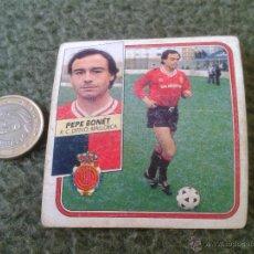 Cromos de Fútbol: CROMO DE FUTBOL PEPE BONET MALLORCA LIGA 89 90 1989 1990 EDICIONES ESTE NUNCA PEGADO DIFICIL BAJA. Lote 43477279