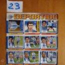 Cromos de Fútbol: LIGA 2005 2006 05 06 HOJA DE ALBUM LOTE DE 16 CROMOS DEL DEPORTIVO ALAVES. Lote 43541249