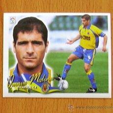 Cromos de Fútbol: VILLARREAL - QUIQUE MEDINA - EDICIONES ESTE 2000-2001, 00-01 - NUNCA PEGADO. Lote 43591559