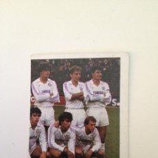 Cromos de Fútbol: CROMOS REAL MADRID CASTILLA AÑO 84. Lote 43716389