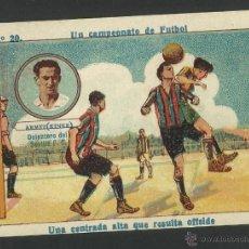 Cromos de Fútbol: ARMET KINKE - DELANTERO DEL SEVILLA FC - Nº 20 - UN CAMPEONATO DE FUTBOL -(CD-413). Lote 43751966