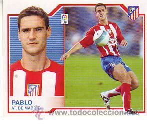 ESTE 2007 2008.- PABLO - ATLETICO MADRID. NUEVO SIN PEGAR (Coleccionismo Deportivo - Álbumes y Cromos de Deportes - Cromos de Fútbol)