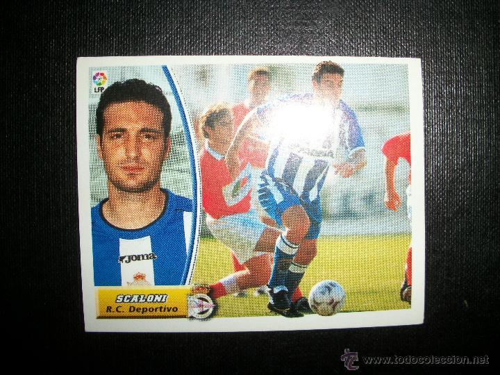 SCALONI DEL DEPORTIVO DE LA CORUÑA ALBUM ESTE LIGA 2003 - 2004 ( 03 - 04 ) (Coleccionismo Deportivo - Álbumes y Cromos de Deportes - Cromos de Fútbol)