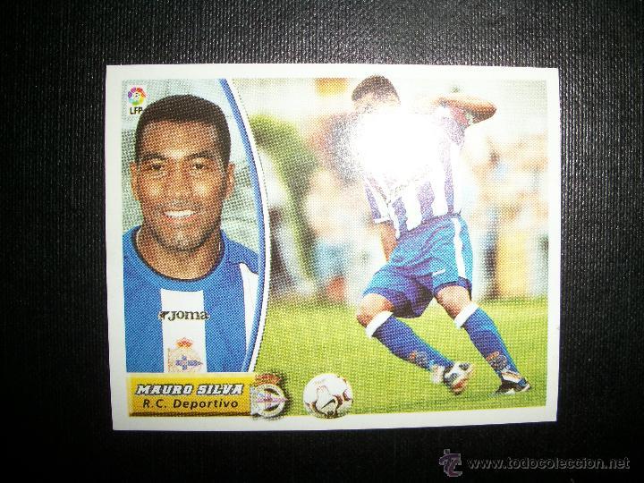 MAURO SILVA DEL DEPORTIVO DE LA CORUÑA ALBUM ESTE LIGA 2003 - 2004 ( 03 - 04 ) (Coleccionismo Deportivo - Álbumes y Cromos de Deportes - Cromos de Fútbol)