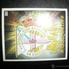 Cromos de Fútbol: ESCUDO DEL DEPORTIVO DE LA CORUÑA ALBUM ESTE LIGA 2003 - 2004 ( 03 - 04 ). Lote 205679261