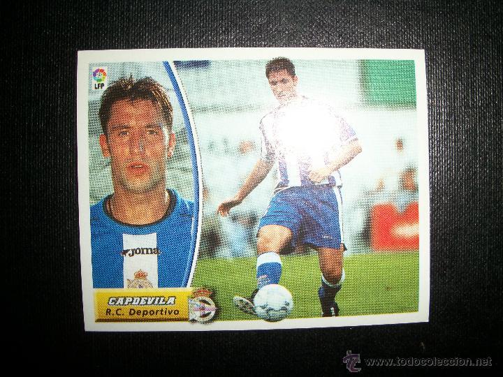 CAPDEVILA DEL DEPORTIVO DE LA CORUÑA ALBUM ESTE LIGA 2003 - 2004 ( 03 - 04 ) (Coleccionismo Deportivo - Álbumes y Cromos de Deportes - Cromos de Fútbol)