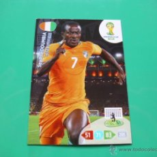 Cromos de Futebol: U99 DOUMBIA (COSTA DE MARFIL) - CARD ADRENALYN XL WORLD CUP 2014 BRASIL PANINI CODIGO SIN ACTIVAR. Lote 43926664