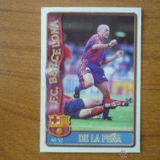 Cromos de Fútbol: MUNDICROMO FICHAS LIGA 96 / 97 Nº 52 IVAN DE LA PEÑA (F C BARCELONA) - 1996 / 1997 BARÇA. Lote 246242870