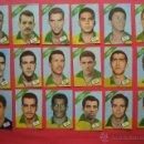 Cromos de Fútbol: 150 CROMOS CAMPEONATO MUNDIAL FUTBOL CHILE 1962 - DISGRA/FHER - (SUELTOS A 2,5 EUROS) - VER LISTADO. Lote 44000122