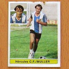 Cromos de Fútbol: HÉRCULES - MULLER, FICHAJE Nº 28 BIS - EDICIONES ESTE 1981-1982, 81-82 - NUNCA PEGADO. Lote 44007253