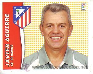 ESTE 2006 2007.- JAVIER AGUIRRE - ATLETICO MADRID. NUEVO SIN PEGAR (Coleccionismo Deportivo - Álbumes y Cromos de Deportes - Cromos de Fútbol)