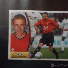 Cromos de Fútbol: ALFREDO DEL OSASUNA ALBUM ESTE LIGA 2003 - 2004 ( 03 - 04 ) . Lote 44098004