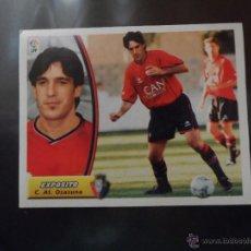 Cromos de Fútbol: EXPOSITO DEL OSASUNA ALBUM ESTE LIGA 2003 - 2004 ( 03 - 04 ) . Lote 44098023
