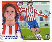 ESTE 2005 2006. ATLETICO DE MADRID - GARCIA CALVO. NUEVO SIN PEGAR (Coleccionismo Deportivo - Álbumes y Cromos de Deportes - Cromos de Fútbol)