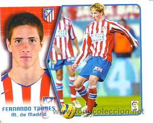 ESTE 2005 2006. ATLETICO DE MADRID - FERNANDO TORRES. NUEVO SIN PEGAR (Coleccionismo Deportivo - Álbumes y Cromos de Deportes - Cromos de Fútbol)