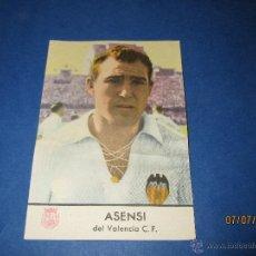 Cromos de Fútbol: ANTIGUO CROMO ASENSI DEL VALENCIA - REGALO DEL CHAMPAÑA CASTELLBLANCH - AÑO 1953. Lote 44153704