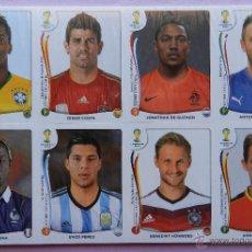 Cromos de Fútbol: SET COMPLETO 72 CROMO EXTRA MUNDIAL BRASIL 2014 - FIFA WORLD CUP - PANINI - WC STICKER BRAZIL CROMOS. Lote 173552149