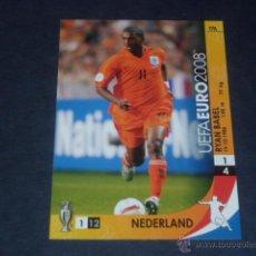 Cromos de Fútbol: EURO 2008 TCG - PANINI - 176 RYAN BABEL - HOLANDA / NEDERLAND. Lote 44207441