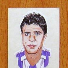 Cromos de Fútbol: VALLADOLID - 68 MOYA - BOLLYCAO CARICATURAS 1990-1991, 90-91 - NUNCA PEGADO. Lote 44216291