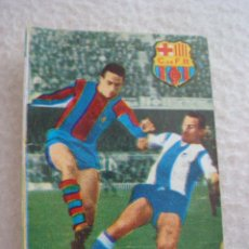 Cromos de Fútbol: LIGA 67-68 FHER. RIFE. CROMO CASILLA DOBLE BARCELONA. Lote 44224491