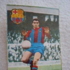 Cromos de Fútbol: LIGA 67-68 FHER. FUSTE. CROMOS CASILLA DOBLE BARCELONA. Lote 44224696