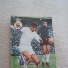 Cromos de Fútbol: LIGA 67-68 FHER. ZOCO. CROMO CASILLA DOBLE REAL MADRID. Lote 44224785