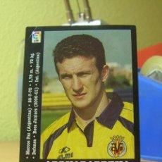 Cromos de Fútbol: PANINI LIGA 2000-2001 00 01 ARRUABARRENA (ULTIMO FICHAJE) VILLARREAL SIN PEGAR LEER. Lote 44225870