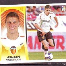Cromos de Futebol: LIGA ESTE 2009 2010.09-10.JOAQUIN.VALENCIA.NUEVO SIN PEGAR.. Lote 44305169