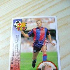 Cromos de Fútbol - 365 ESCAICH ULTIMO FICHAJE BARCELONA PANINI LIGA 1994 1995 94 95 SIN PEGAR - 44331542