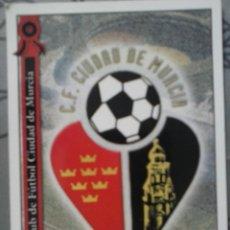 Cromos de Fútbol: CROMO ESCUDO CF CIUDAD DE MURCIA. Lote 44379515