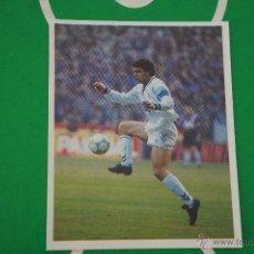 Cromos de Fútbol: CROMO DE FUTBOL:REAL MADRID C.F.,SANCHIS,(SIN PEGAR),Nº107,LIGA MAGIC BOX,1994-1995/94-95. Lote 143706606